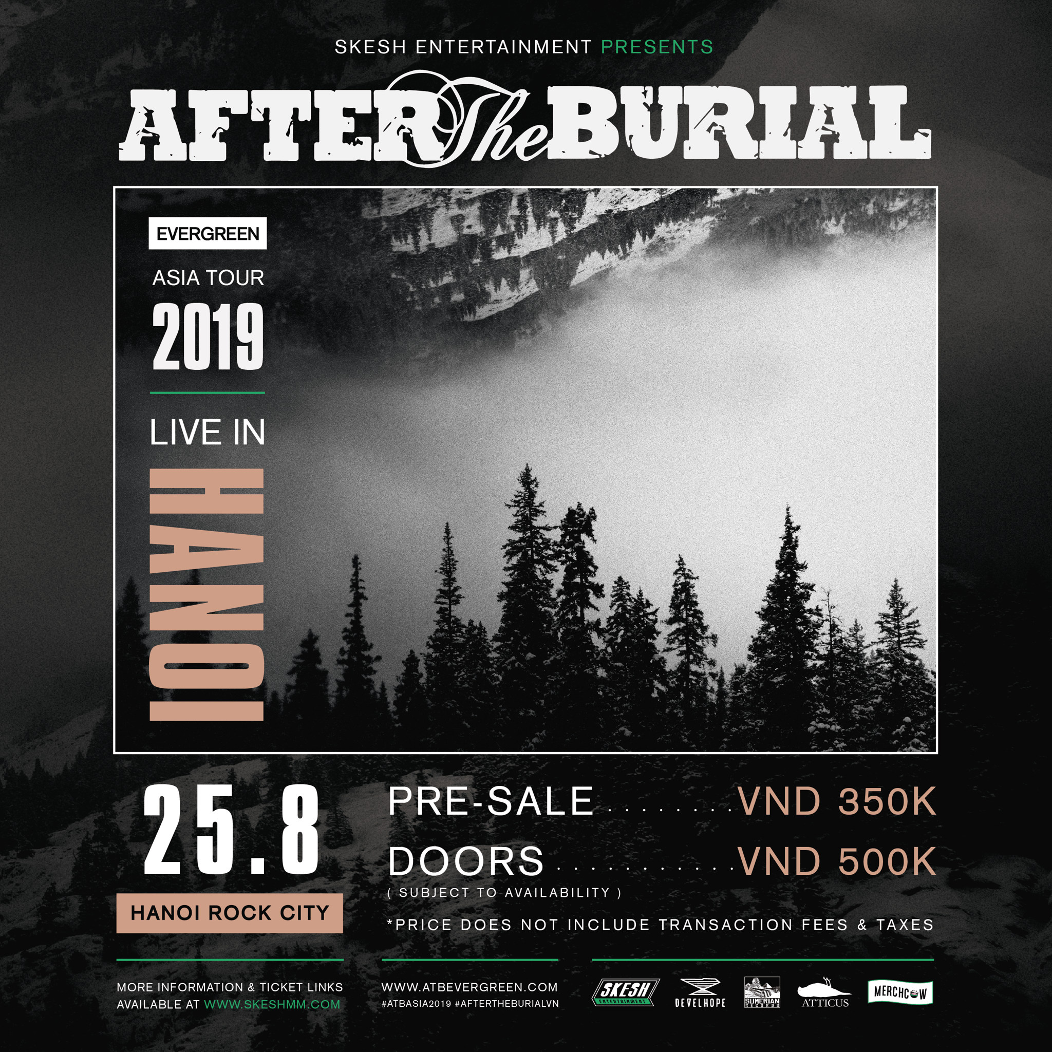 After The Burial (USA) - live in Hanoi