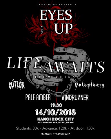 EYES UP Vol.2: Life Awaits Live in Hanoi