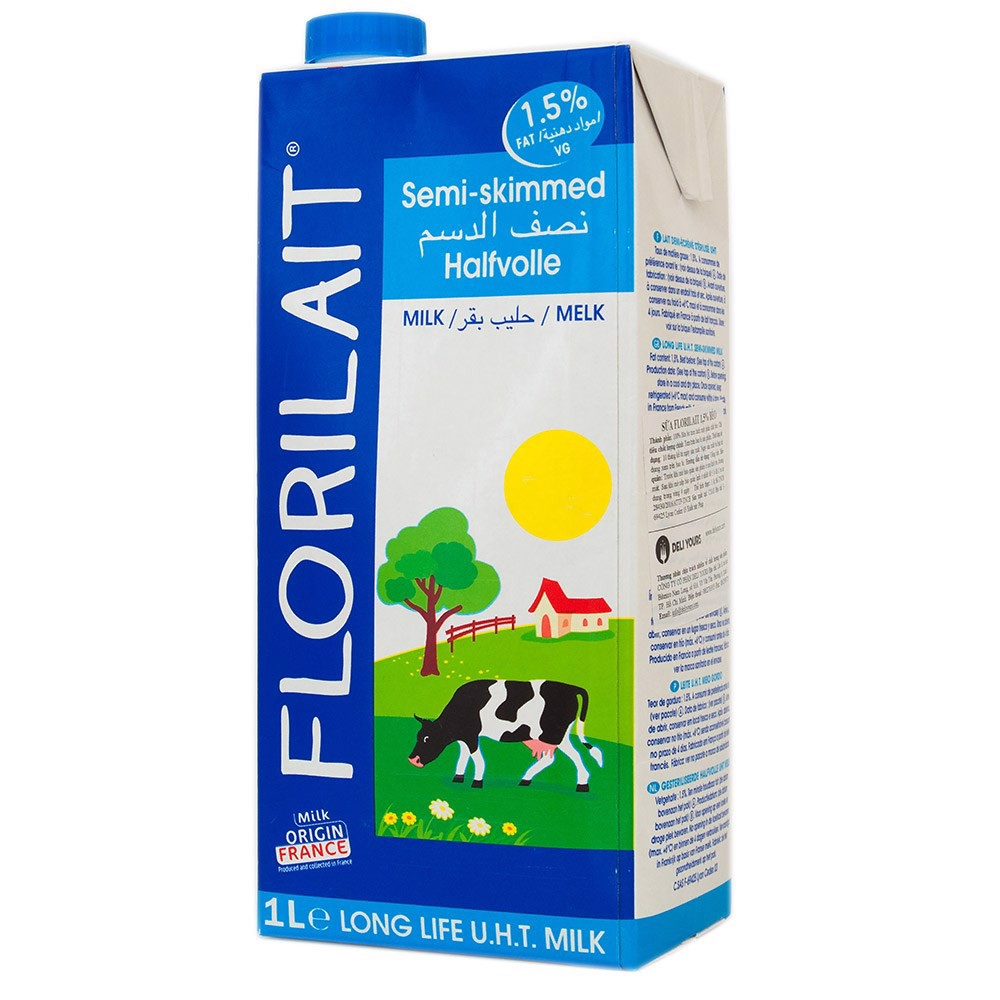 Florilait milk (1,5% fat) 1L