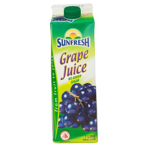 Sunfresh grape juice 1L