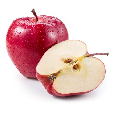 Delicious red apples imported from the U.S – approximately 5 per kilogram