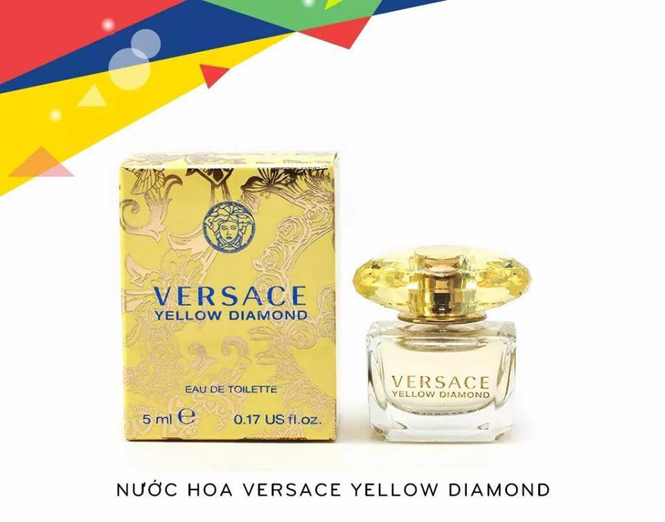 Nước hoa mini Versace Yellow Diamond 5ml