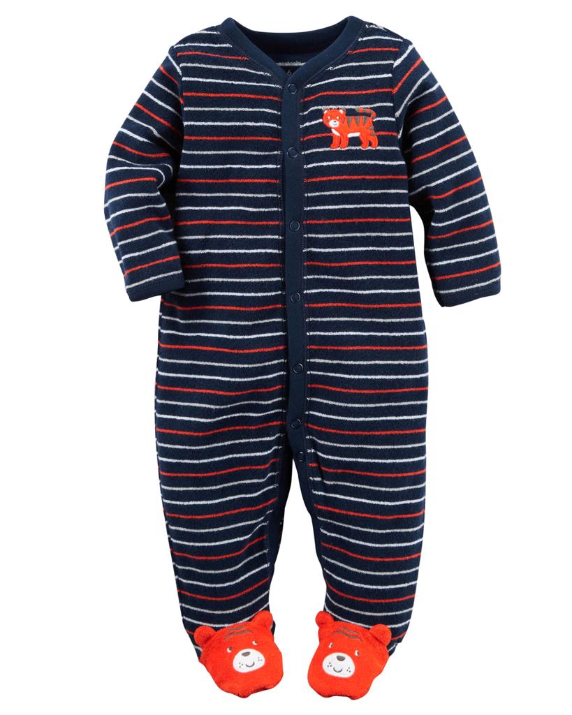 Quần áo trẻ em, bodysuit, Carter, đầm bé gái cao cấp, quần áo trẻ em nhập khẩu, Sleepsuit nhập Mỹ size 3M-6M-9M