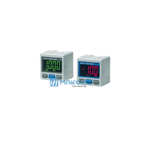 2-Color Display High-Precision Digital Pressure Switch ZSE30A(F)/ISE30A