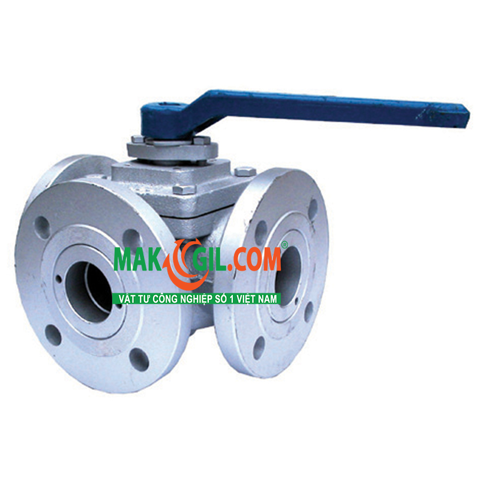 3-Way L-Port / T-Port Ball Valves