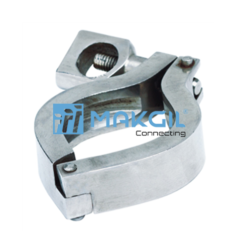 Tri clamp, sealing ring & bottom part (A302)