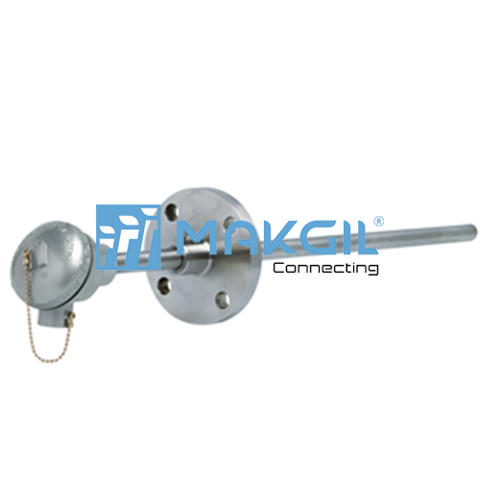 T304 – Can nhiệt thermocouple kết nối flange/thread hãng ITEC/ITALY