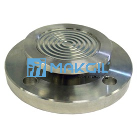Flanged diaphragm seal, flushed , rotatable flange (D405)