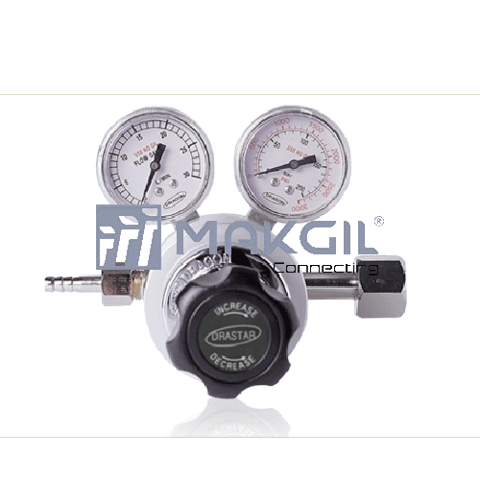 Co2 Welding Gas Regulator(Flow-gauge type)- DR60-Co2 Welding