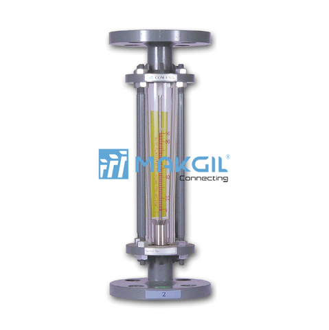 Glass tube flowmeter_F805