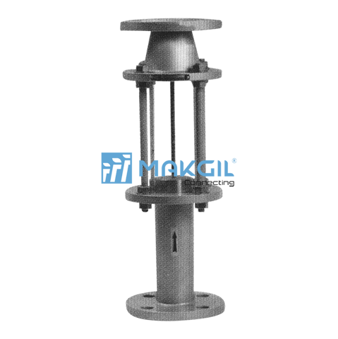 Large size glass tube flowmeter_F812