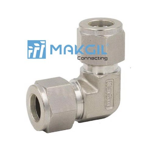 Hansun S-lok Union Elbow S6-SL-4, 1/4 ( Tube OD )