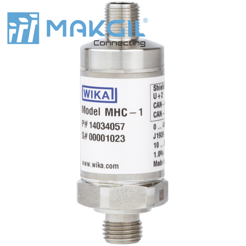 Model MHC-1  Pressure transmitter with output signals CANopen® and J1939
