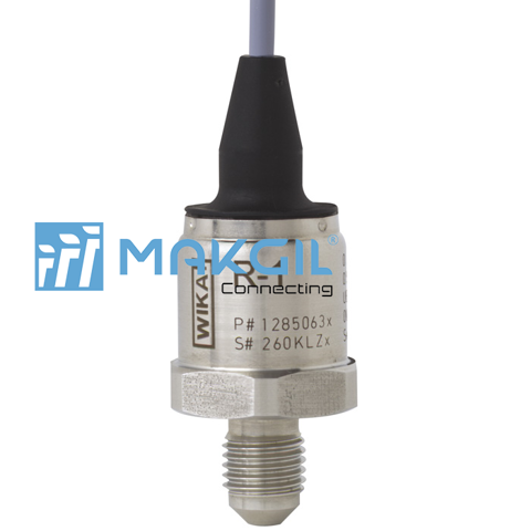 Model R-1  Pressure transmitter with hermetically welded thin film measuring cell