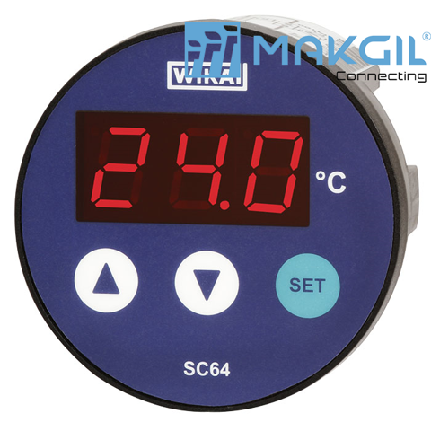 Model SC64 Temperature controller with digital indicator