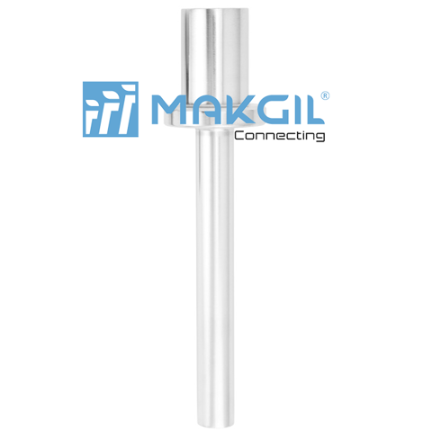 Model TW30  Thermowell for lap flanges (solid-machined)
