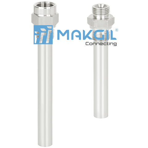 Model TW50  Screw-in thermowell (solid-machined)