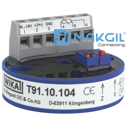 Models T91.10, T91.20  Analogue temperature transmitter