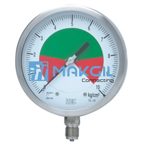 Adjustable deadband pressure gauge (P802)