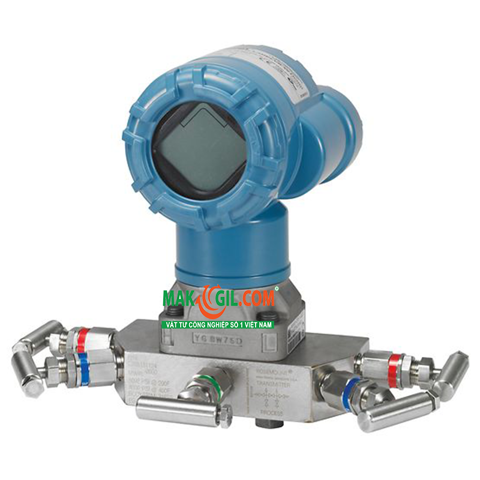 Cảm biến áp suất Rosemount™ 2051 Wireless Differential Pressure Flow Transmitter