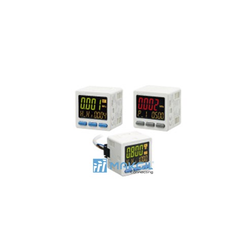 3-Screen Display High-Precision Digital Pressure Switch ZSE20□(F)/ISE20□