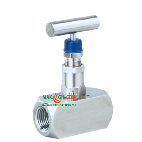 1/2 inch NPT Isolation needle valve V101, AISI 316 SS