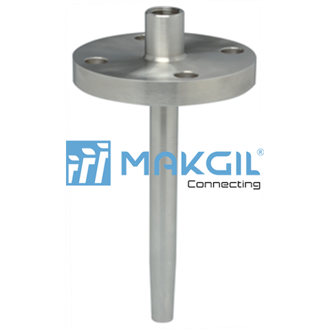 Partial bar-stock, flanged/threaded (W204)