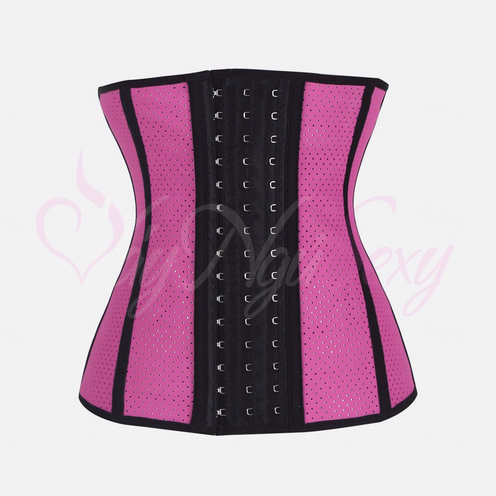 CORSET LATEX 4D CR103 HỒNG