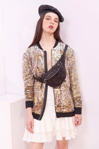Sequin Female Bomber