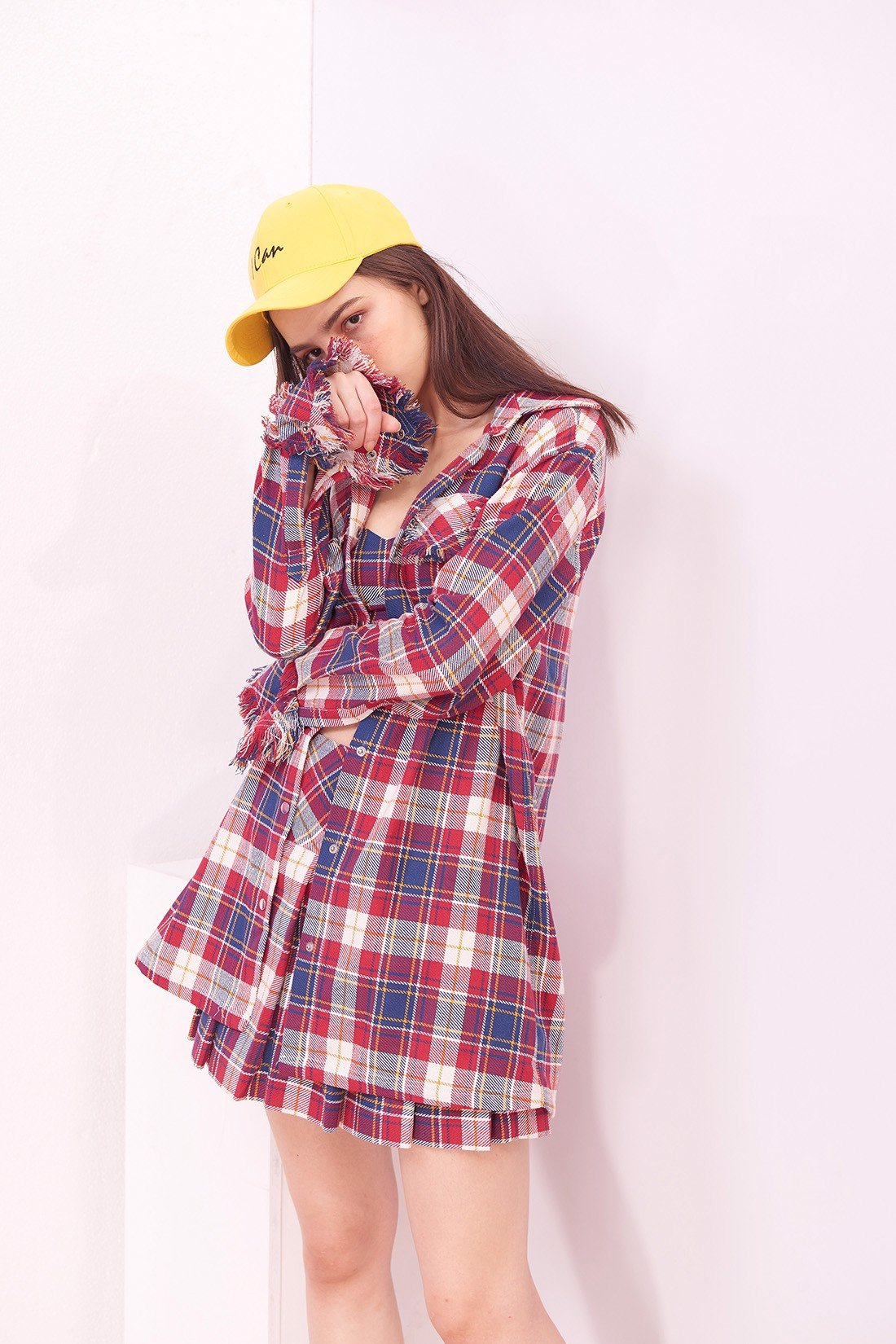 Plaid Wide Shirt