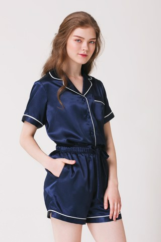 Silk Mini Pajamas