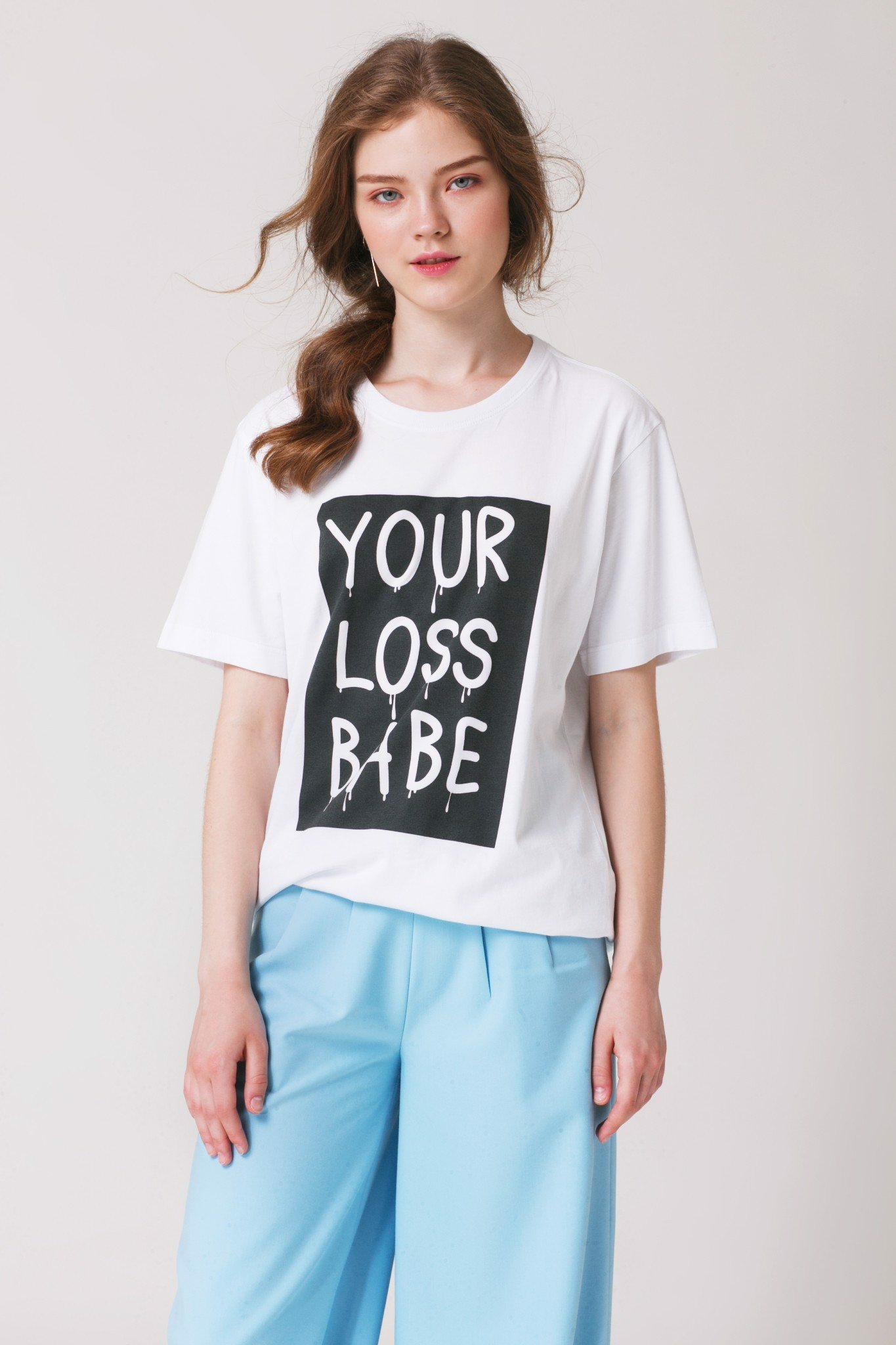 Your Loss Babe Printed T-shirt