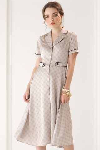 Signature Midi Coat Dress