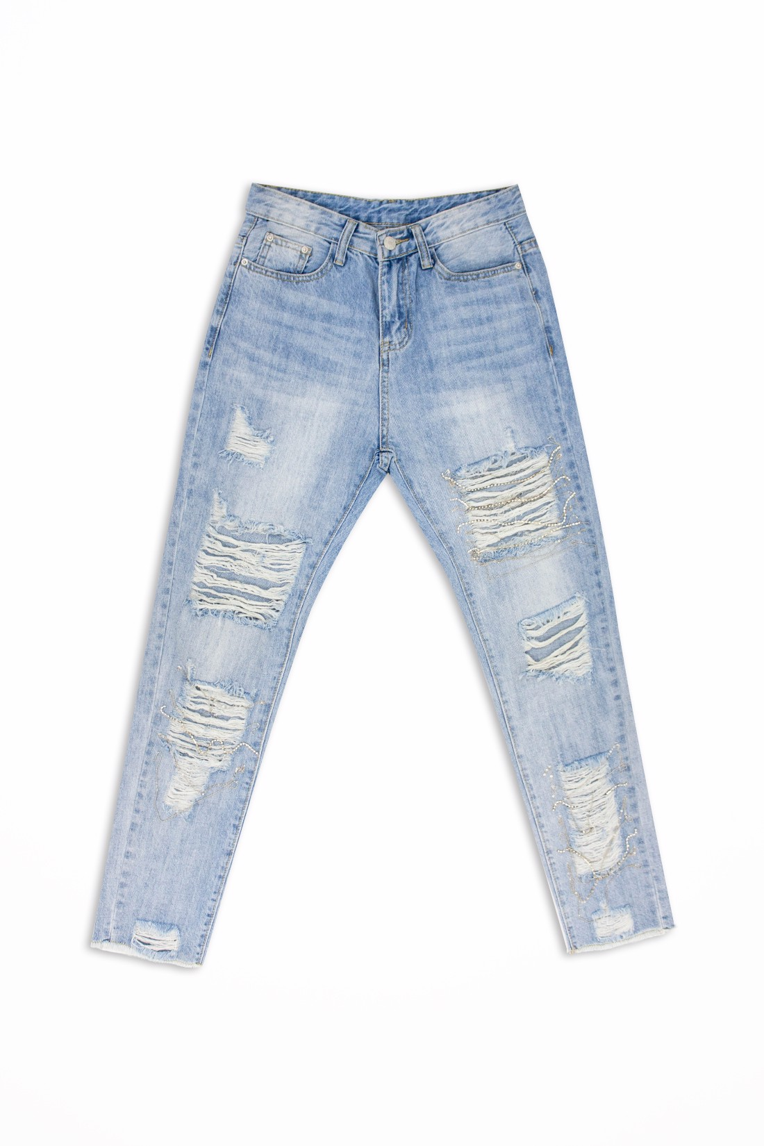 Handmade Ripped Jeans