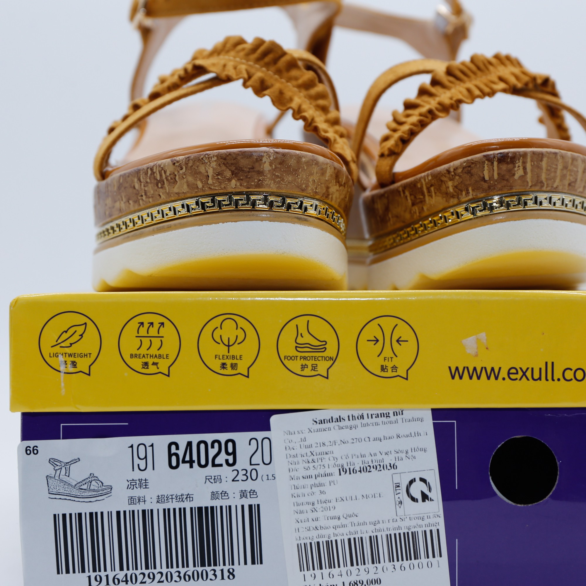 Sandals nữ Exull Mode 1916402920