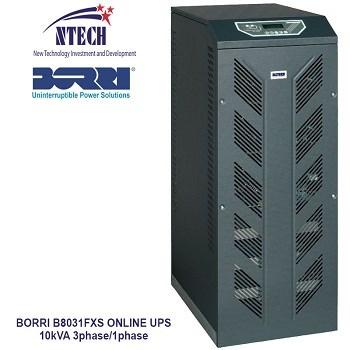 bộ lưu điện 10kva BORRI B8031FXS 3/1phase UPS ONLINE