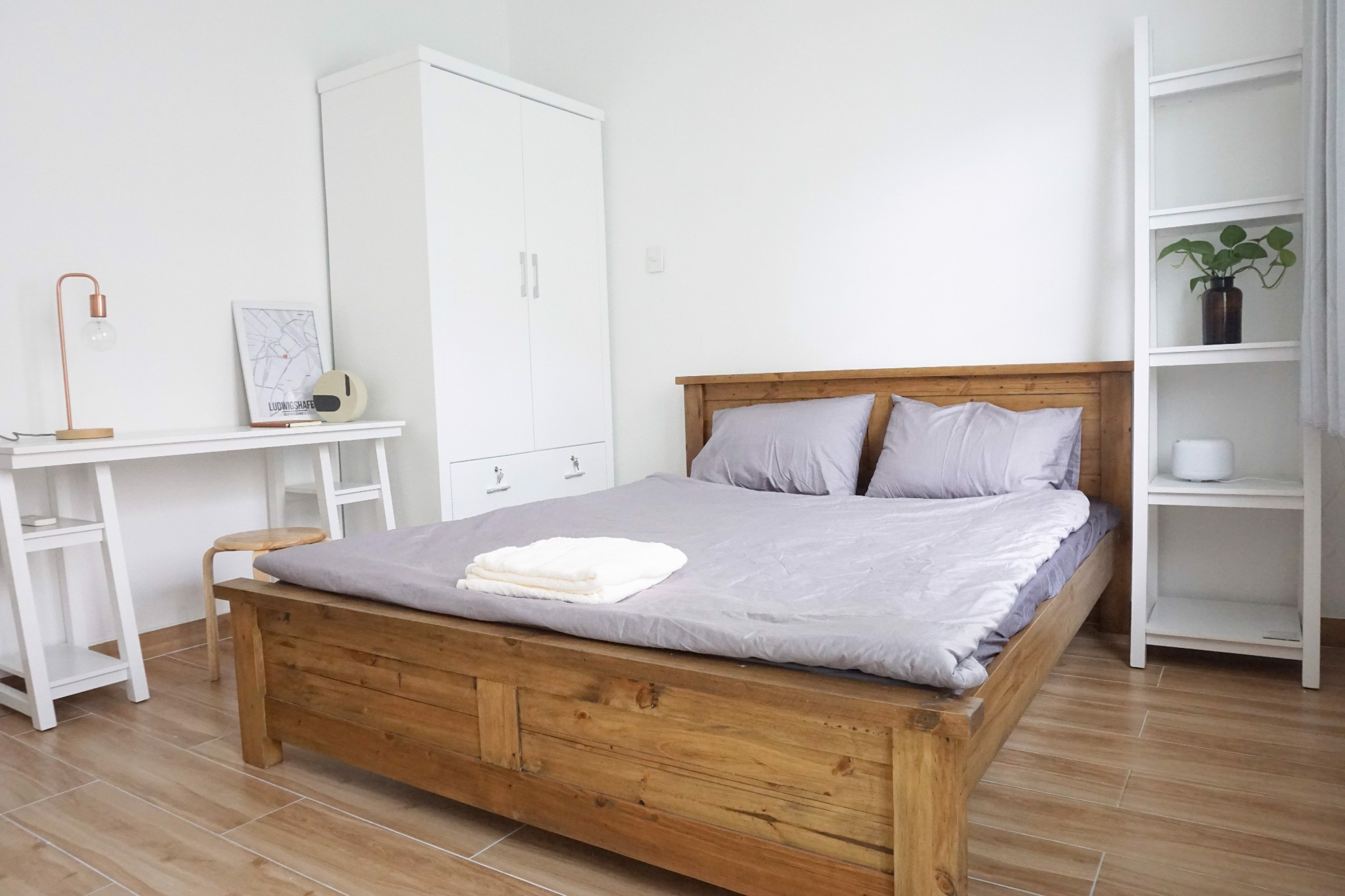 Large bright airy sunny double room