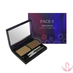BỘT TÁN CHÂN MÀY DESIGNING CAKE EYE BROWN – FACE IT