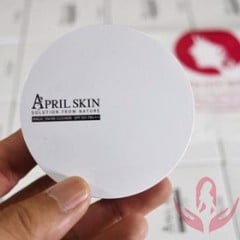 PHẤN NƯỚC APRIL SKIN MAGIC SNOW CUSHION SPF50 MÀU TRẮNG