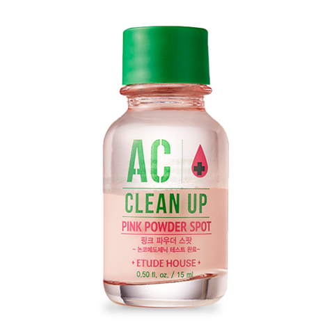 Chấm Trị Mụn Etude House AC Clean Up Pink Powder Spot
