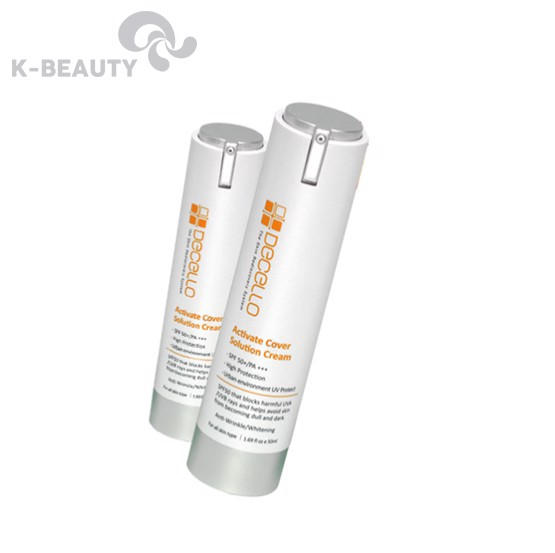 Kem chống nắng Decello Activate Cover Solution Cream