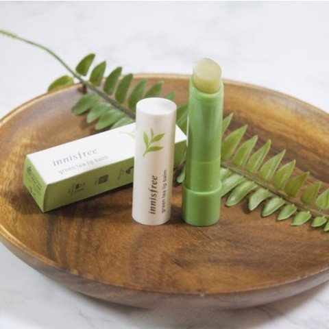 Son dưỡng Innisfree green tea lip balm