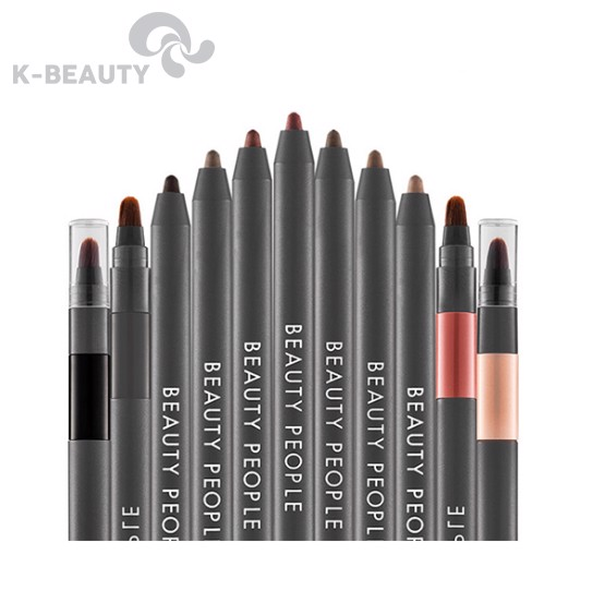Bút kẻ mắt tiện dụng Beauty People First Highliner Brush Unit Pencil
