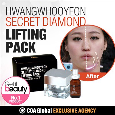 Mặt nạ rửa HWANGWHOOYEON Secret Diamond Lifting Mask