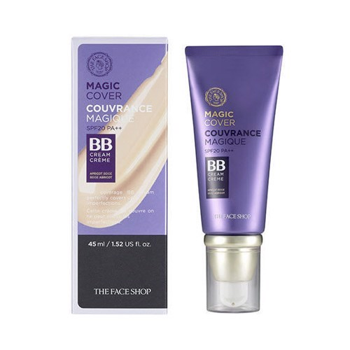 Kem nền đa năng THE FACE SHOP MAGIC COVER BB CREAM SPF20 PA++