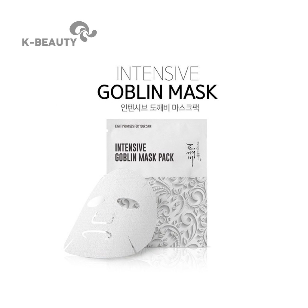 Mặt nạ yêu tinh EIGHT PROMISES FOR YOUR SKIN Intensive Goblin Mask Pack