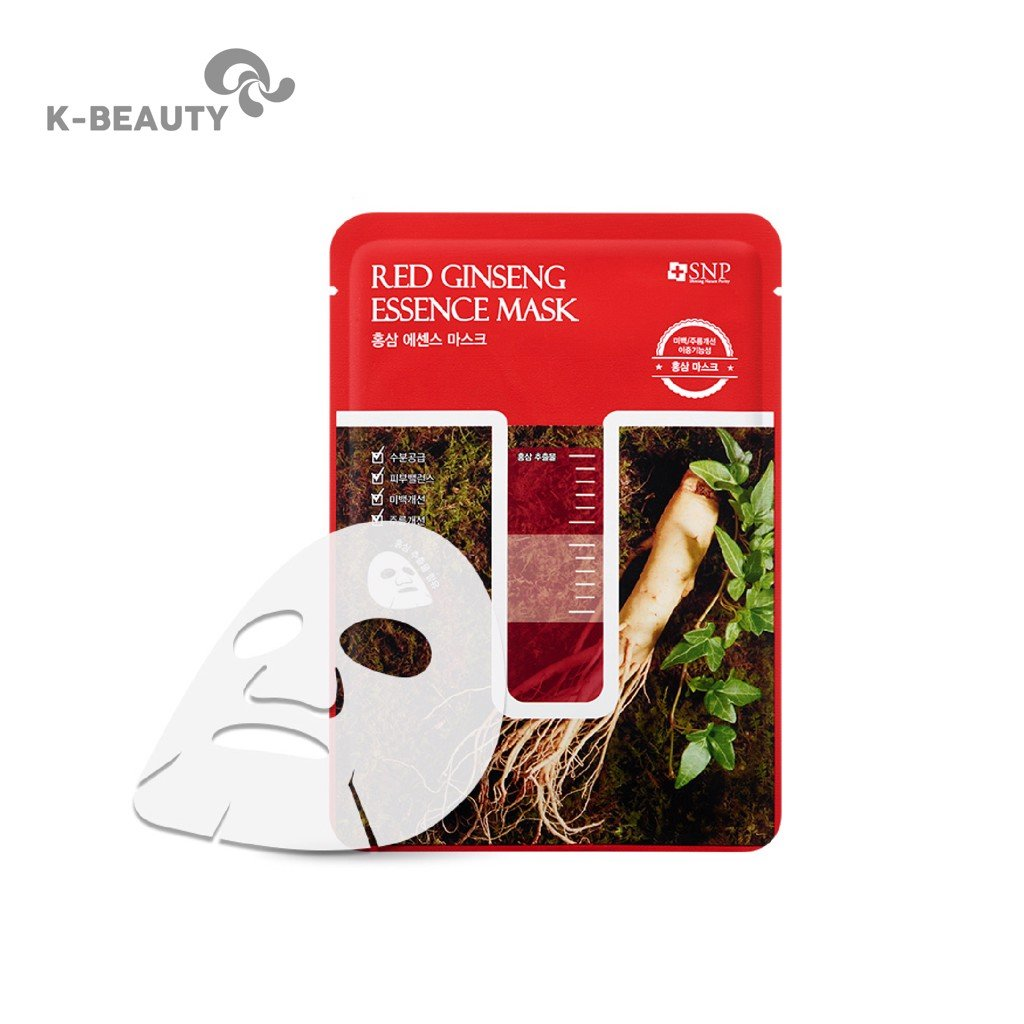 Mặt nạ chiết xuất hồng sâm SNP Red Ginseng Essence Mask