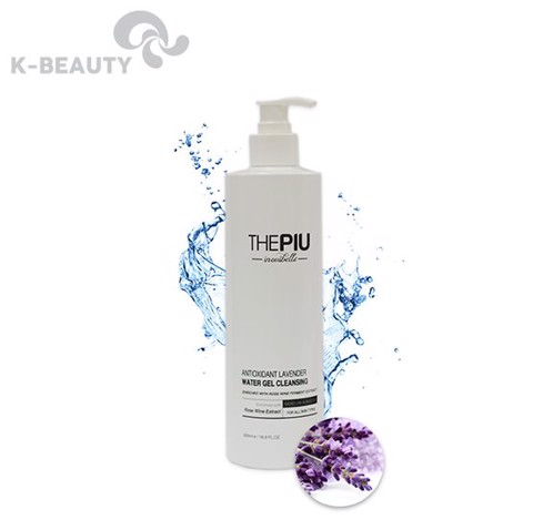 Sữa rửa mặt dạng gel The Piu Antioxidiant Lavender Water Gel Cleansing 500ml