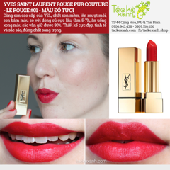 Son YSL Rouge Pur Couture mini #01
