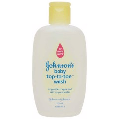Sữa Tắm Gội Em Bé Johnson & Johnson Top to Toe (100ml)